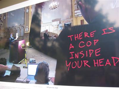 There is a cop inside your head
